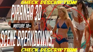 Piranha 3D Scene Breakdowns (Warning Contains Nudity and Gore)