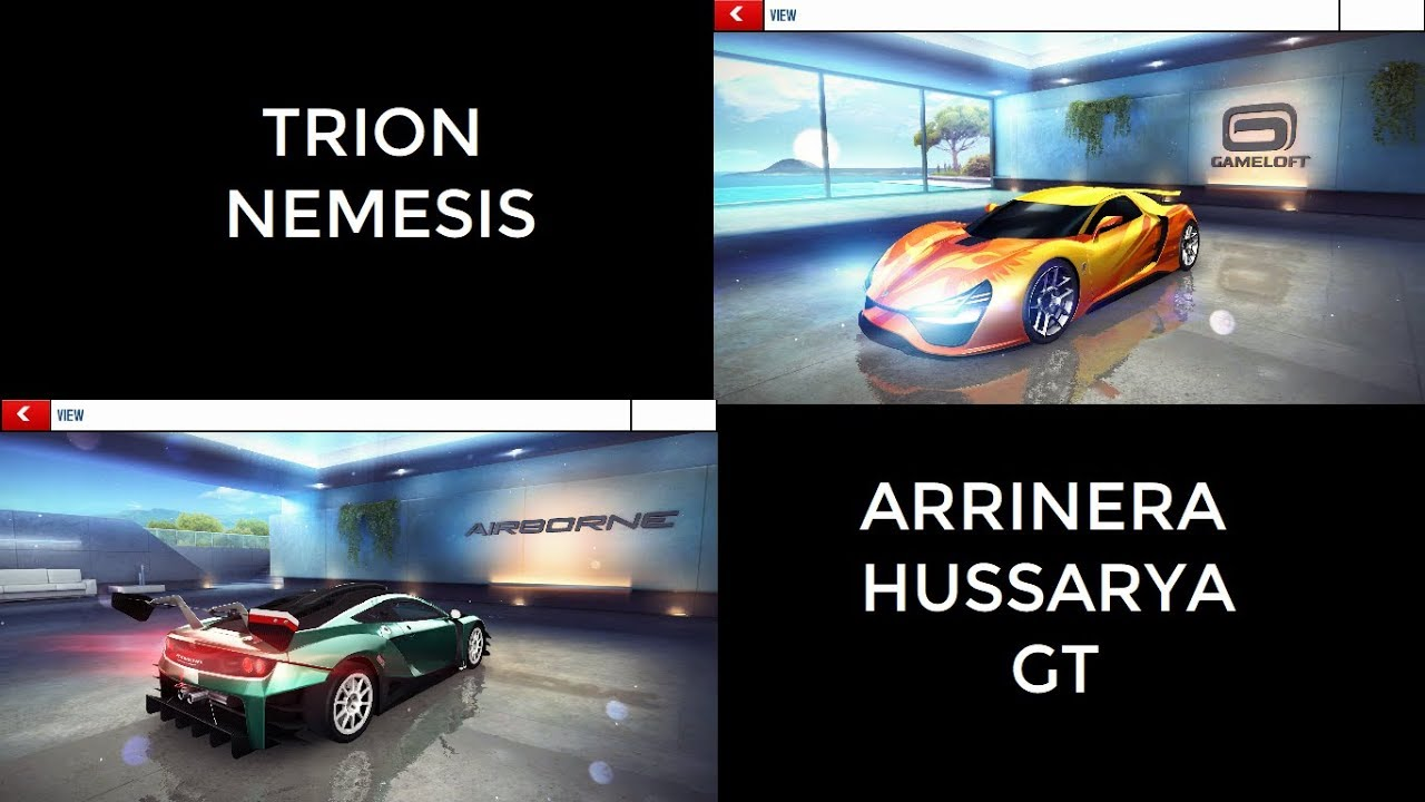Arrinera Hussarya Gt Vs Trion Nemesis