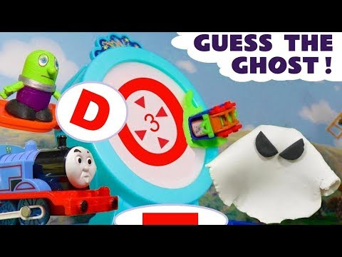 Thomas The Tank Engine Guess The Ghost learning letters with the funny Funlings TT4U