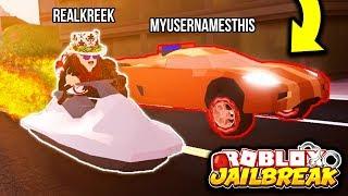Jailbreak NEW FASTEST CAR! (Ultimate Speed Test) | BACON VS SALAD | Roblox Jailbreak New Update