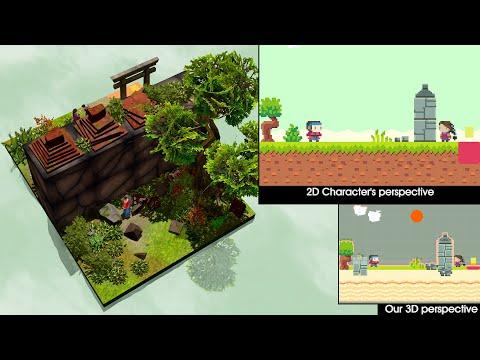 Cómo atravesar paredes a través de la cuarta dimensión, explicado estilo videojuego