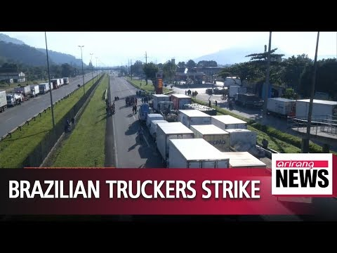 Brazilian truckers strike for fourth day as diesel tax cuts stall