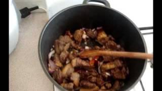 Domodah Beef And Groundnut/peanut Stew Recipe