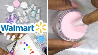 DIY Testing Dip Powder Nail Kit from Walmart - DipWell Nails