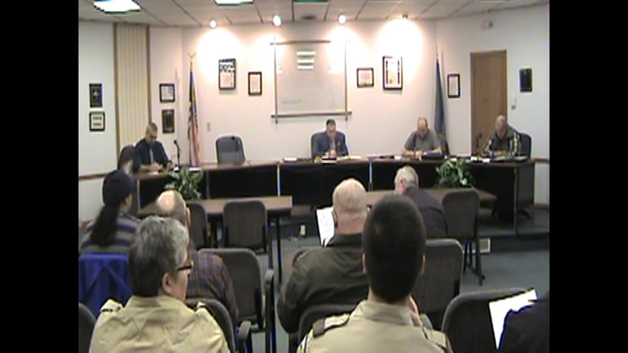 Rouses Point Village Board Meeting  3-7-16