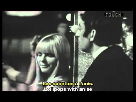 France Gall Serge Gainsbourg Les Sucettes Lollipops French & English Subtitles