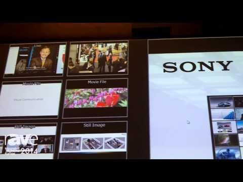 ISE 2014: Sony Showcases Vision Presenter