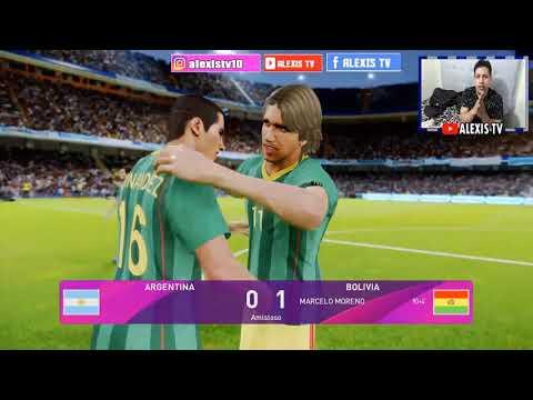 PES 2020 | Bolivia vs Argentina Simulacion Eliminatorias 2022