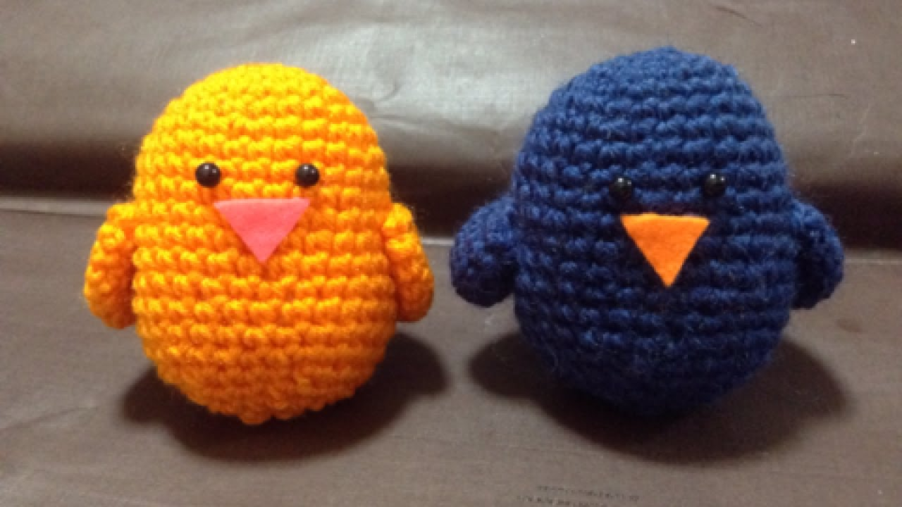 How To Crochet a Cute Amigurumi Bird - DIY Crafts Tutorial ...