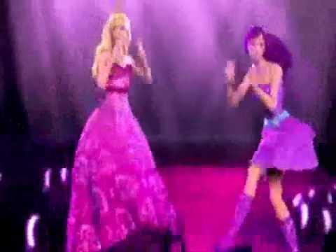 Barbie the princess and the popstar - Greek trailer 2
