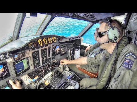 New Zealand Air Force Anti-Submarine Warfare – P-3 Orion Torpedo Launch