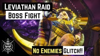 Destiny 2 | How to Glitch Calus Boss fight with no enemies - Leviathan Raid Easy Mode
