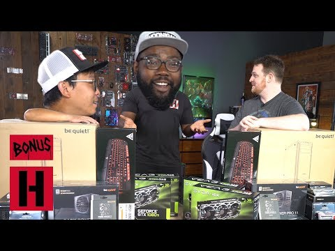 The Gang Builds a Super Computer at Newegg