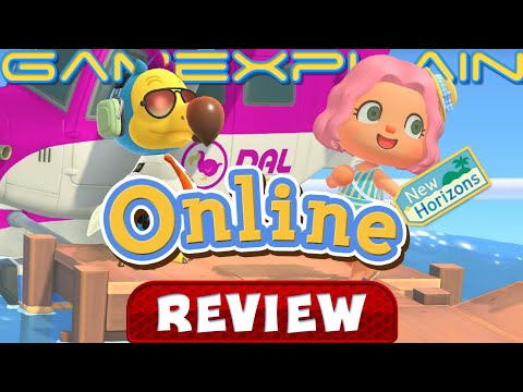 Animal Crossing: New Horizons Online Multiplayer REVIEW