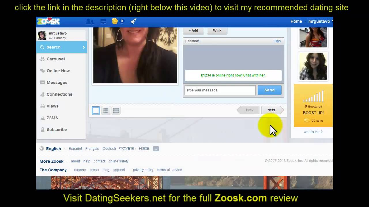 Does zoosk dating work