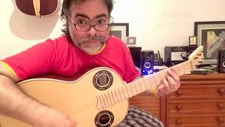 Strumming series 3 /Paco de Lucia´s flamenco guitar techniques / join Skype lessons Ruben Diaz