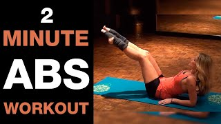 2 Minute Abs Workout I Kama Exercises To Tone Abs And Hips