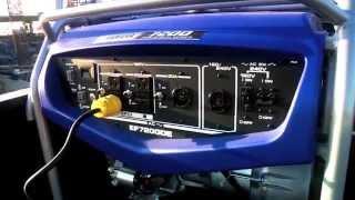 Yamaha Generator EF7200D/DE