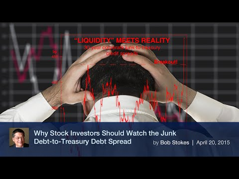 Why Stock Investors Should Watch the Junk Debt-to-Treasury Debt Spread