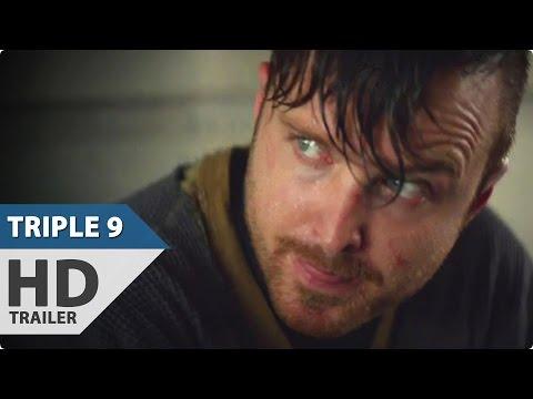 Triple 9 Trailer 2 (2016) Aaron Paul, Anthony Mackie Heist Movie