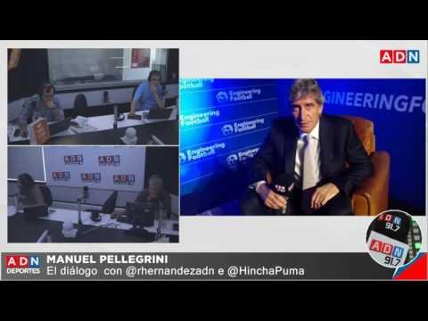 El mano a mano de ADN deportes con Manuel Pellegrini, presentando su nuevo manual.
