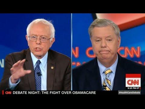Bernie Sanders vs. Lindsey Graham: CNN's Healthcare Debate