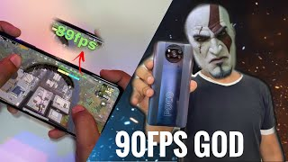 POCO X3 Pro PUBG 90FPS Gaming review / Snapdragon 860 90FPS PUBG Mobile 😂😅