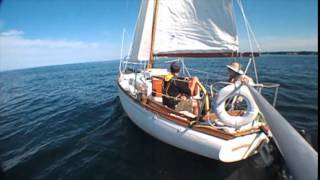 Adria slow sailing on Ontario with Dan Justa Aug 18, 2014