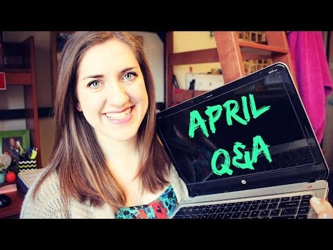 College Pros/Cons, YouTube Inspiration, & Secret Wishes | April Q&A