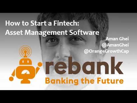 How to Start a Fintech: Asset Management Software