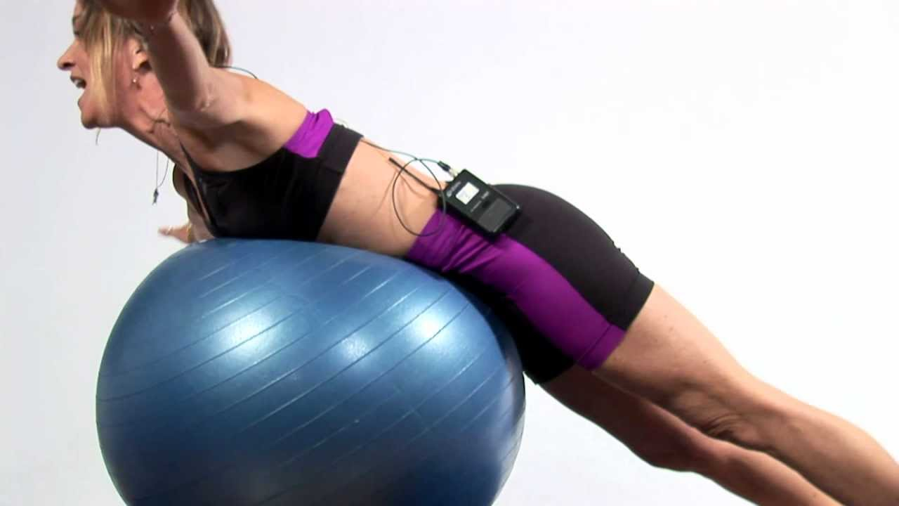 Download Fitness Exercises : Stability Ball Exercises for Children