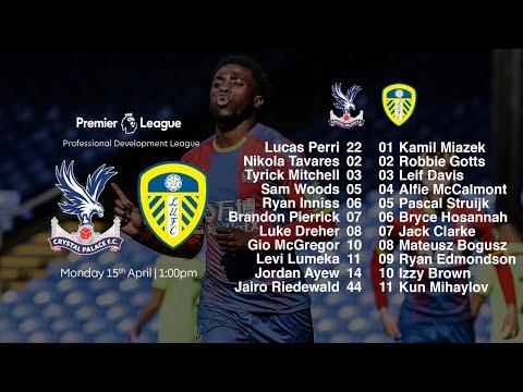 Live Stream | Crystal Palace U23 vs Leeds United U23