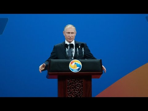Putin holds press conference at Silk Road forum in China