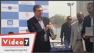 تكريم الإعلامى عمرو الليثى فى احتفالية