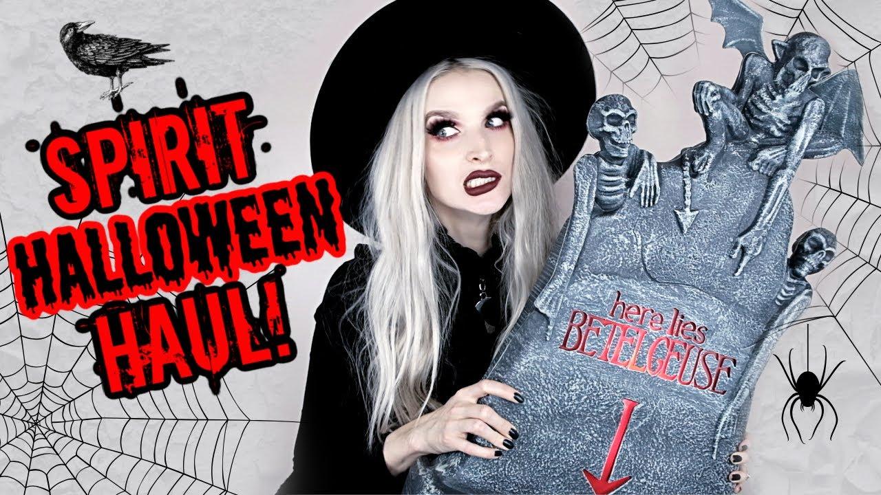 Spirit Halloween Home Decor Haul!!!