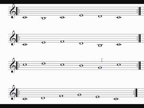 Learn to Sing Notes on a Music Sheet - Introduction to ...