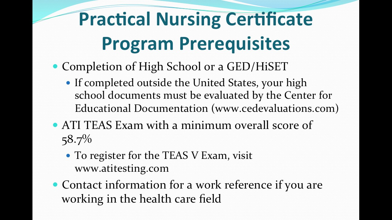 Practical Nursing Certificate Fall 2017 Youtube