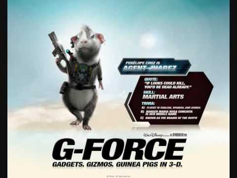 G Force Characters Youtube