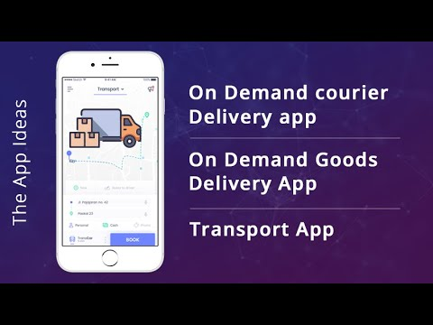 On Demand Courier Delivery app   Courier Delivery app   Goods Delivery App