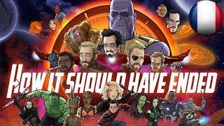 Comment Avengers: Infinity War aurait dû finir