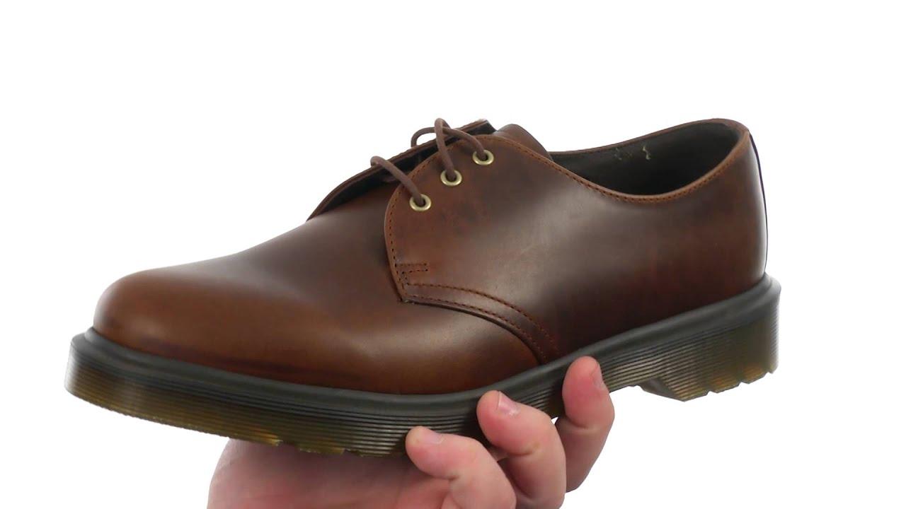 cec525cbff Dr. Martens 1461 PW 3-Eye Shoe SKU:8381537 - YouTube