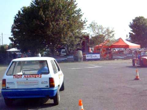 The Rally Show 2009 - Richard Egger Insurance / BTRDA Autotest Display Team