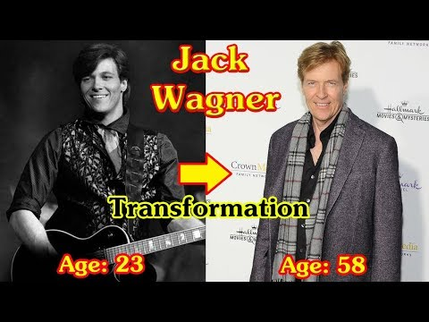 Jack Wagner Transformation From 19 To 58 Years Old