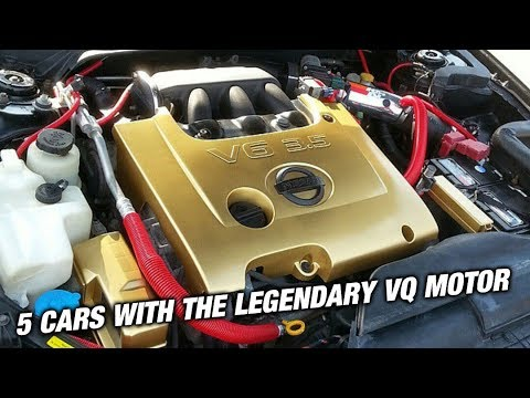 5 Cars You Didn't Know Had VQ Engines