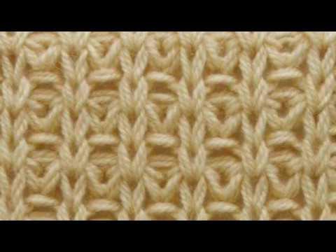 Ажурный узор спицами. Вязание спицами и крючком. Схемы. Вязание для начинающих.