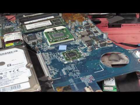 Toshiba A300 A300d black screen, no image problem fix laptop repair Typical problem