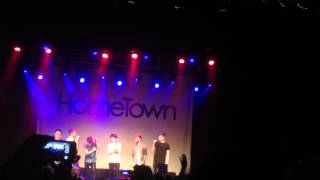 Hometown hello cover (vicar street)