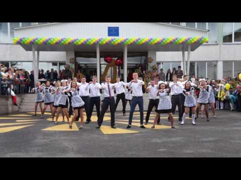 Флешмоб на 1 сентября 11 класс г.Красноярск