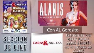 ALANIS - entrevista a Sofia Gala Castiglione - Sección de cine de CARAS Y CARETAS