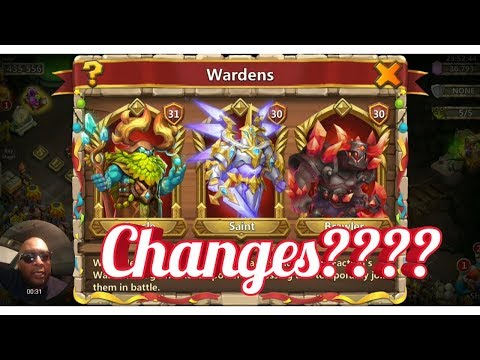 Castle Clash Changes In Warden System!!!